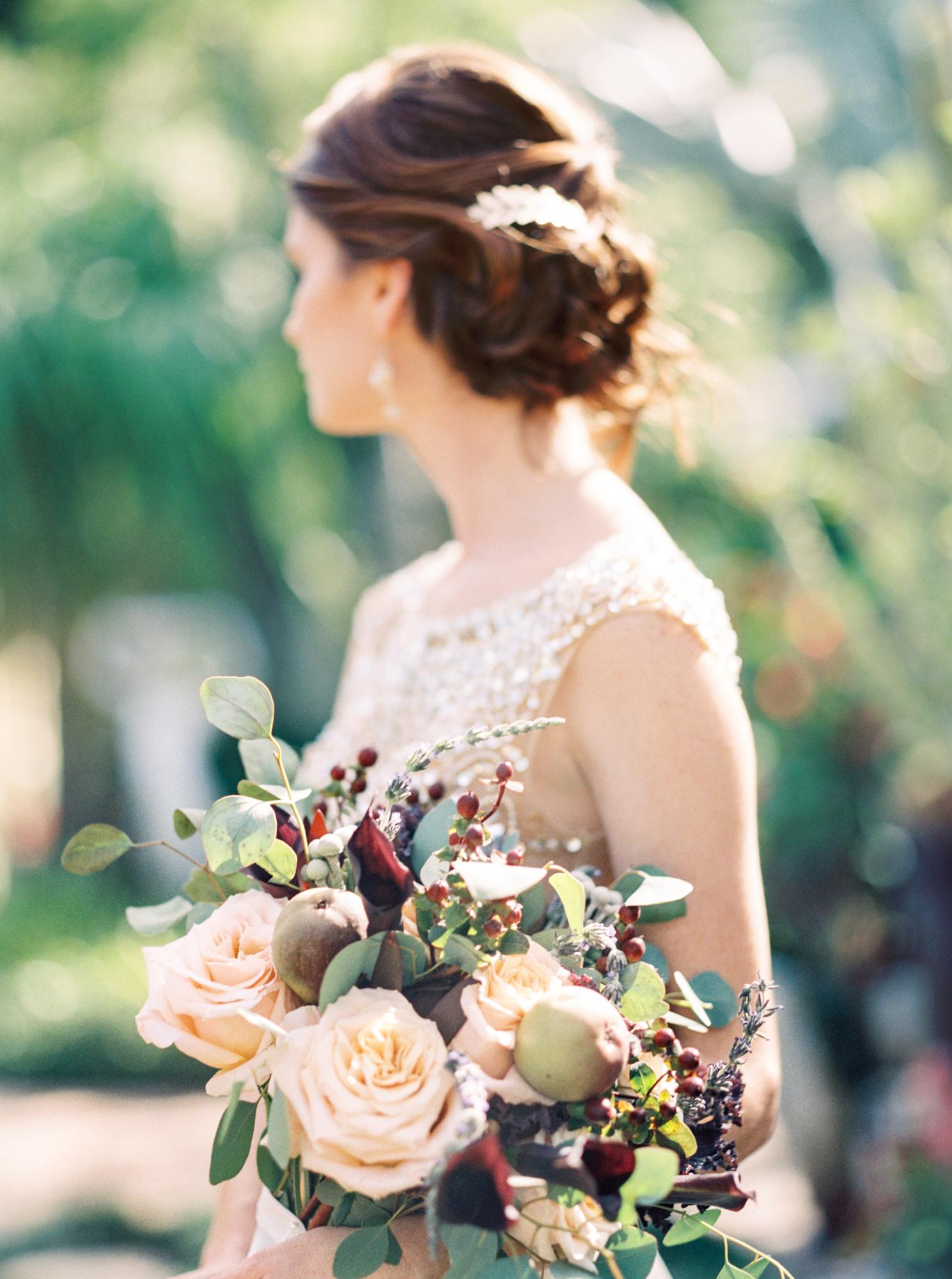 valkaria gardens palm bay FL brides bouquet wedding photos