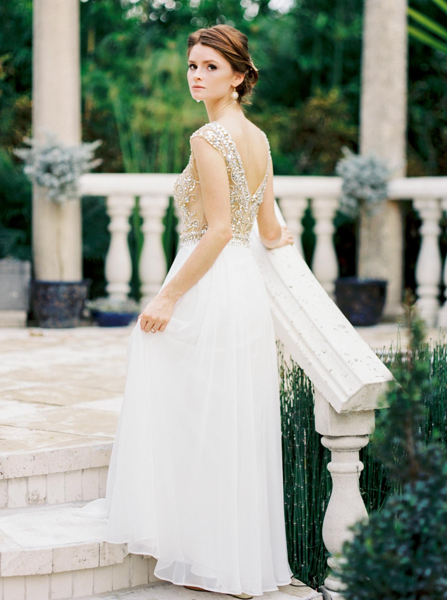 valkaria gardens palm bay FL bride wedding photos