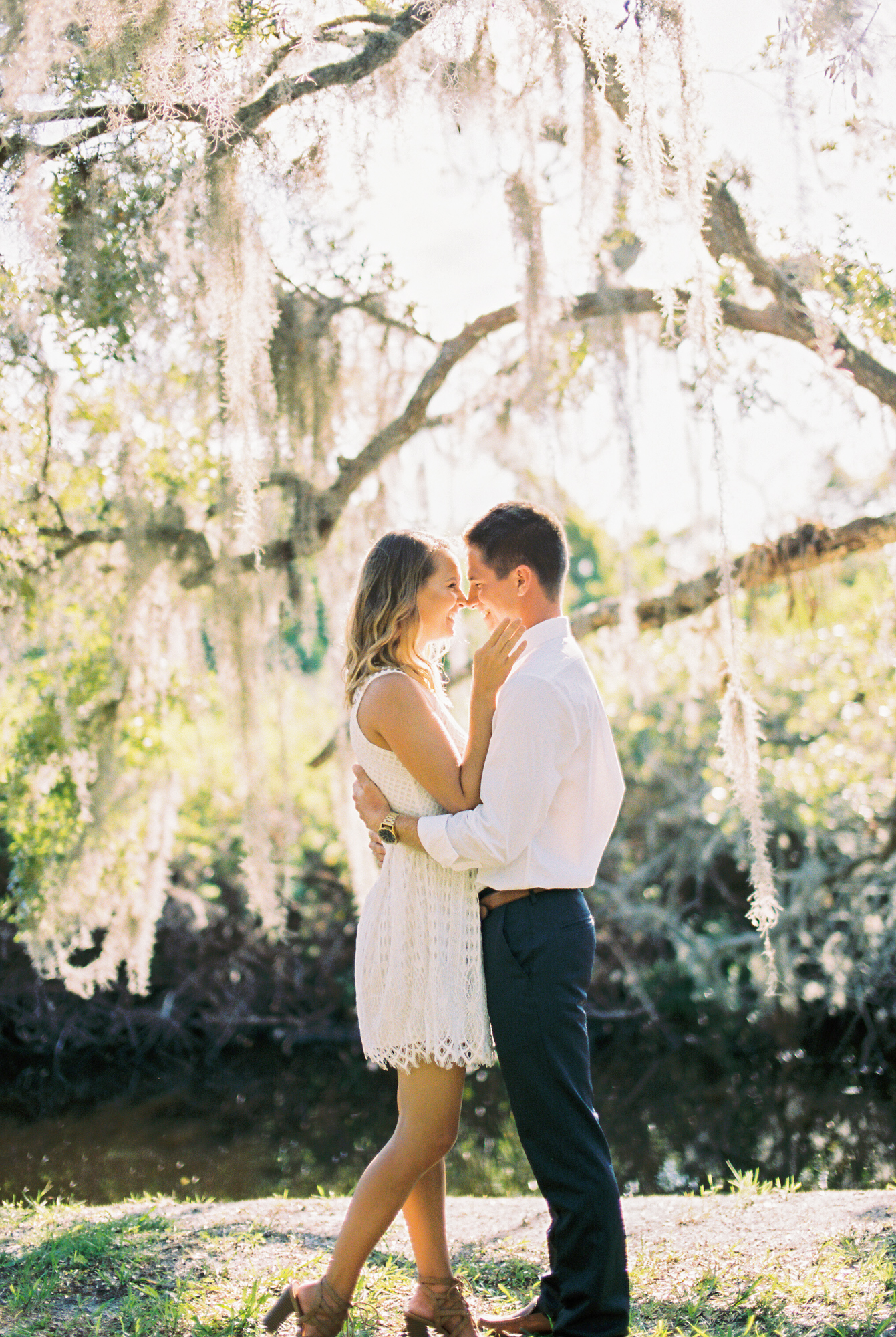 up the creek farms malabar fl engagement and wedding photos