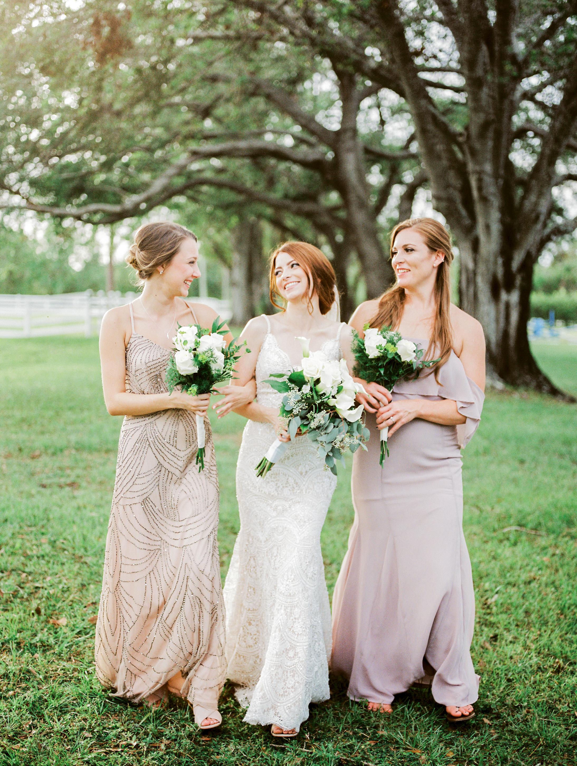 orlando florida wedding photos bridesmaids jessica bellinger photography
