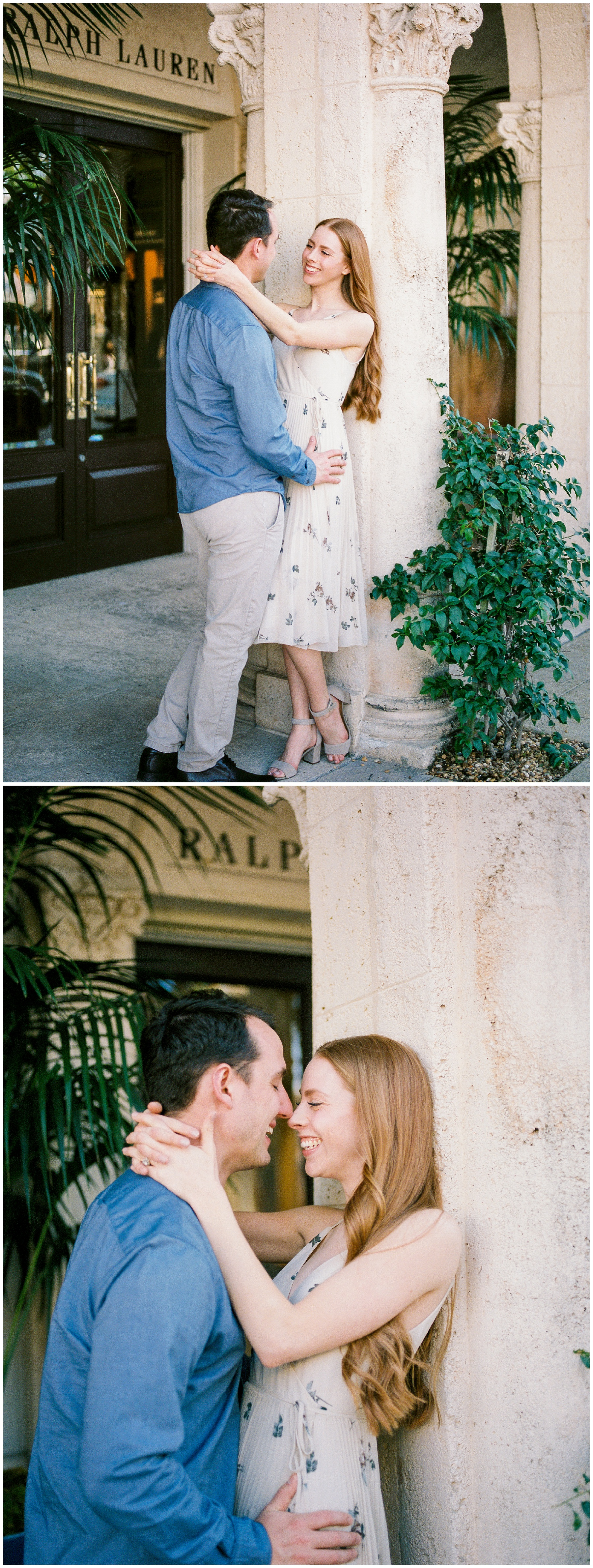 worth ave palm beach fl engagement photographer