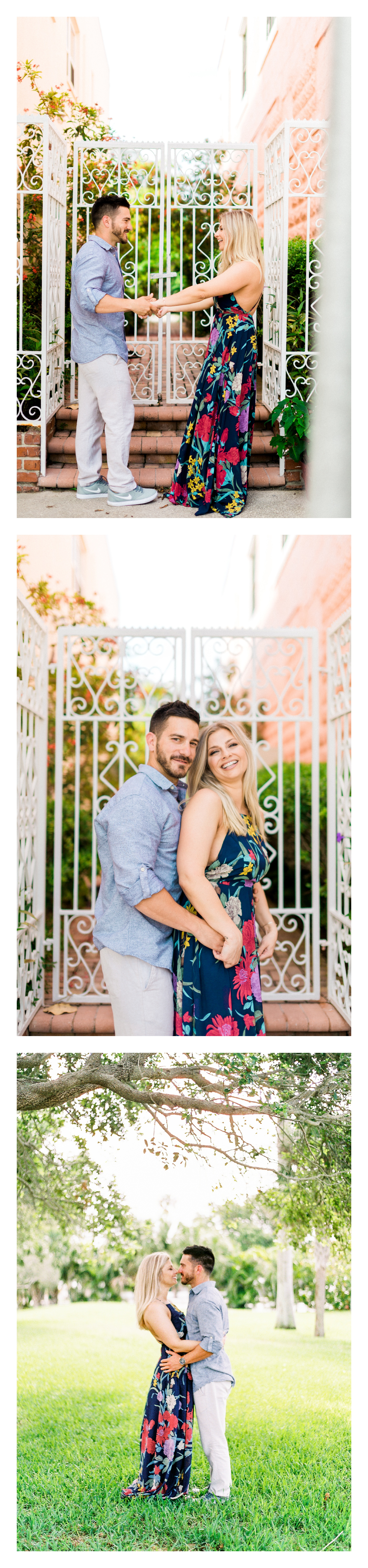 St. Petersburg Beach, tampa bay FL, Pass-a-Grille Engagement Photos