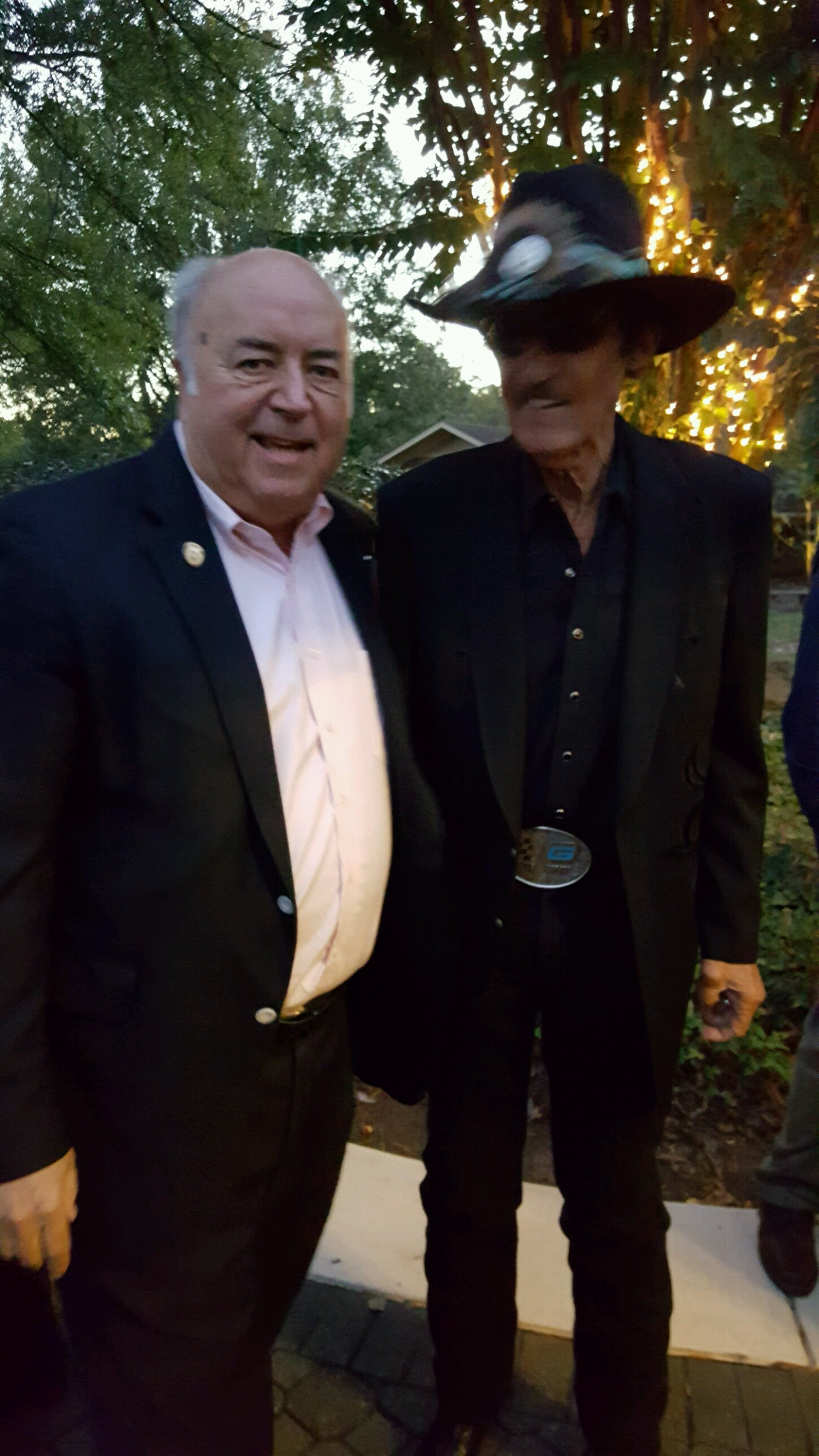With Richard Petty at the Petty Fish Fry.
