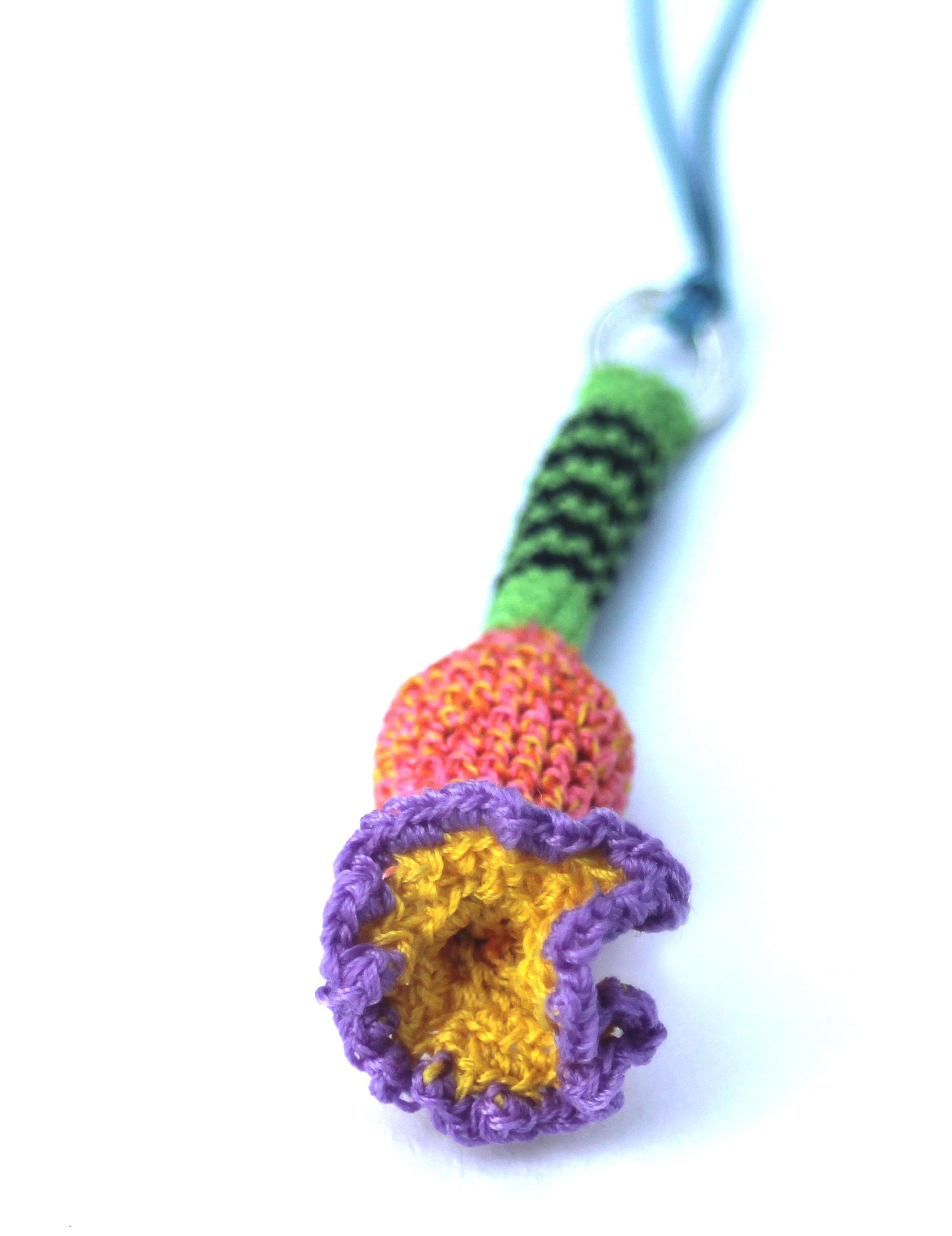 Strange Flower pendant