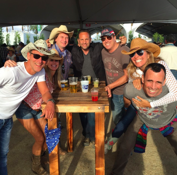 Rip with Erik Smith and friends at Stagecoach (May 2016)