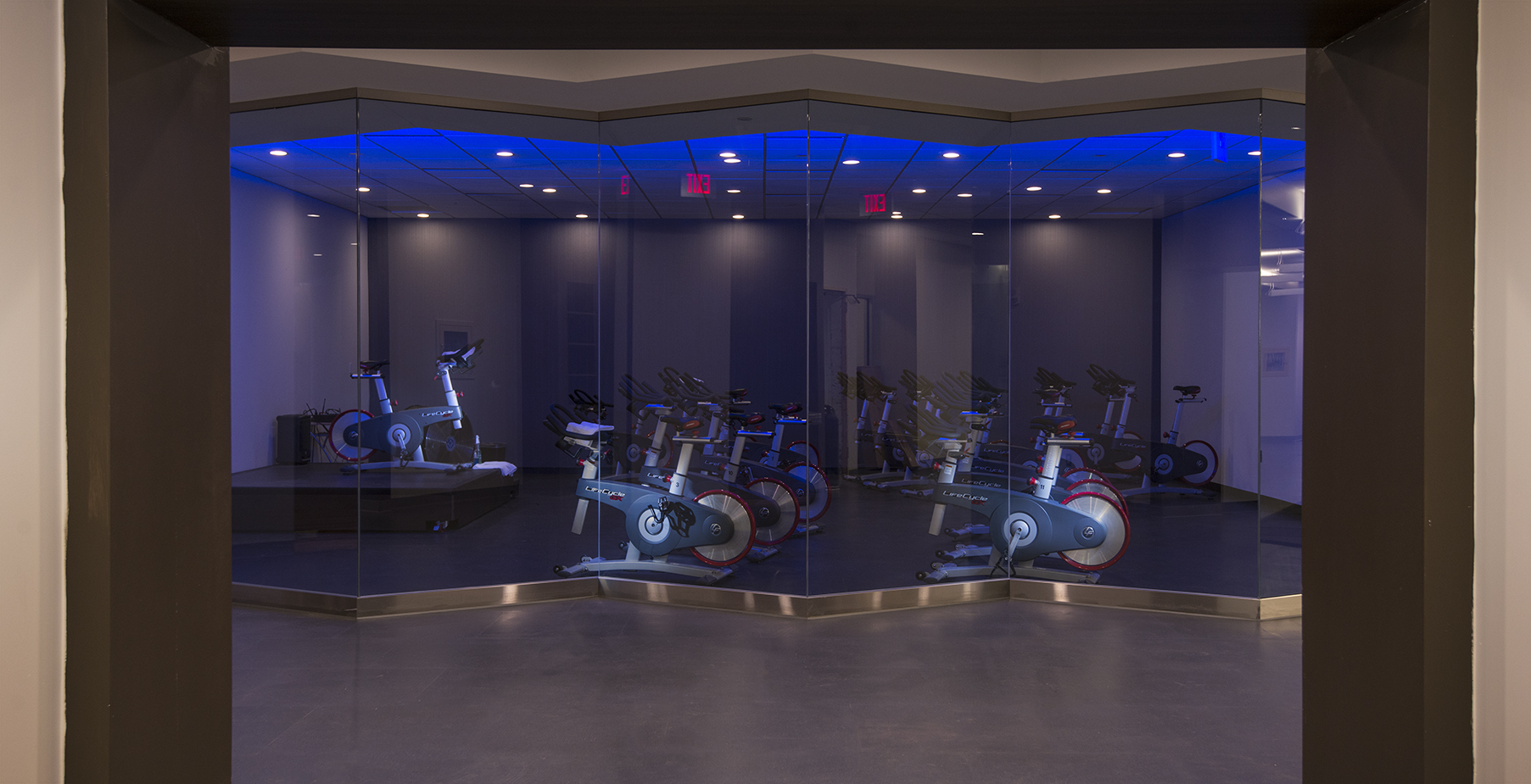 Indoor Cycling at Longitude