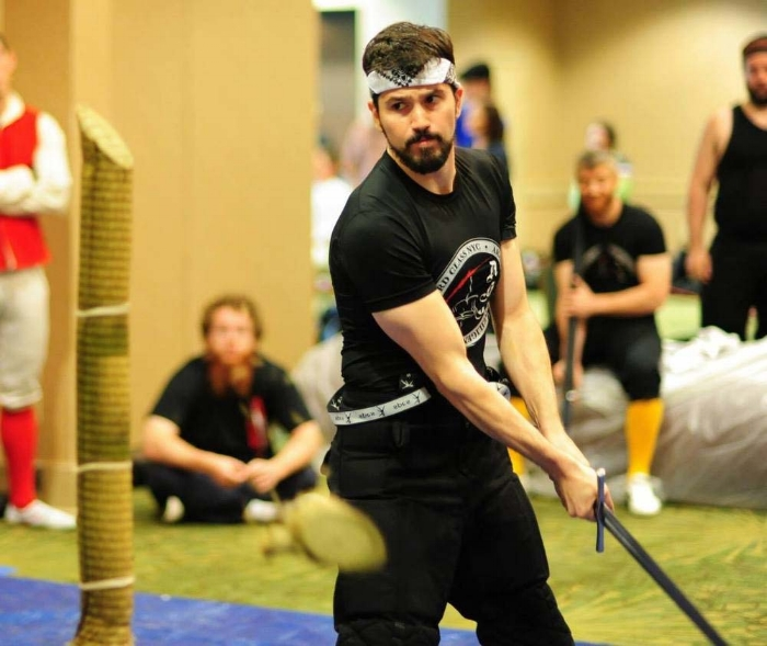 "Steven Viani - Rank 3aInstructor, Longsword, Chapter ""City"""