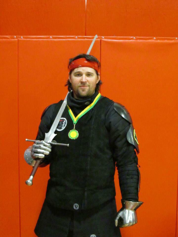 "Peter Concannon - Rank 3aInstructor, Longsword, Chapter ""Montgomery County"""