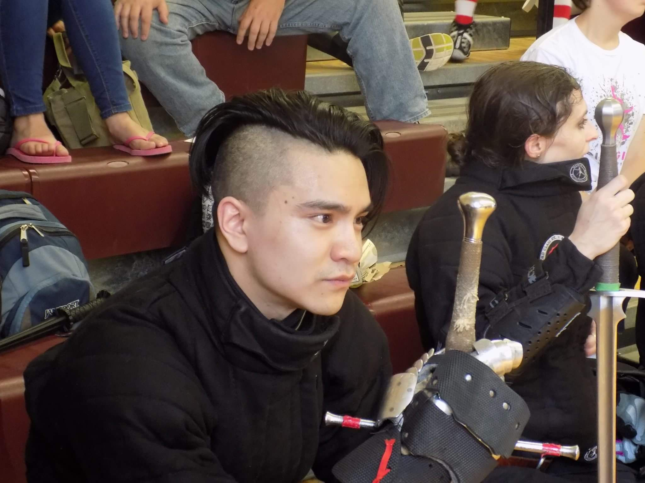 "Kenny Mai - Rank 2 Instructor, Longsword / Spear, Chapter ""City"""