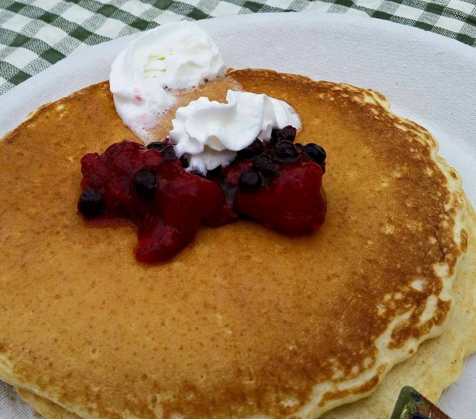 Stonewall Kitchen does a pancake breakfast every summer to raise funds for the Table of Plenty! We hope to see you next year!