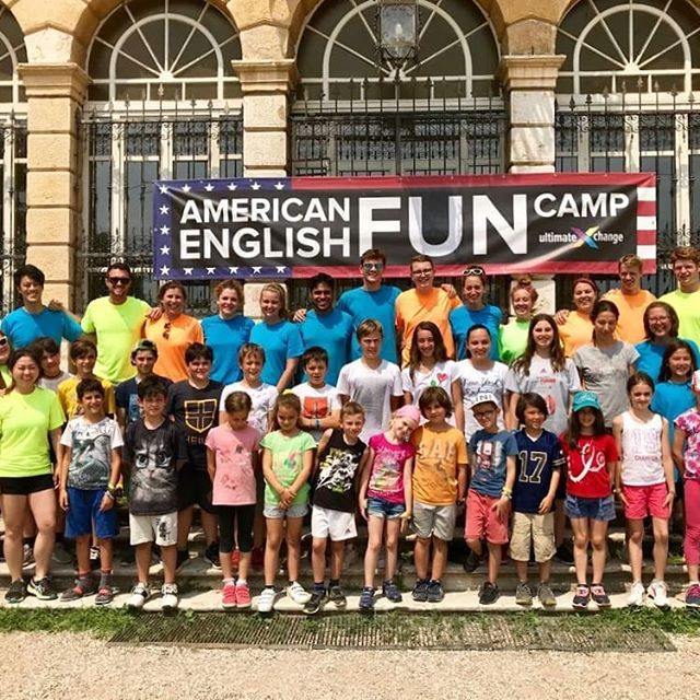 American English FUN Camp is over for another year. We've had an awesome two weeks at Villa Buri making friends, learning new sports and putting our English into action.  We're sad it's all over but we'll see you all next year!  #ultimateXchange #americanenglishfuncamp #englishinaction