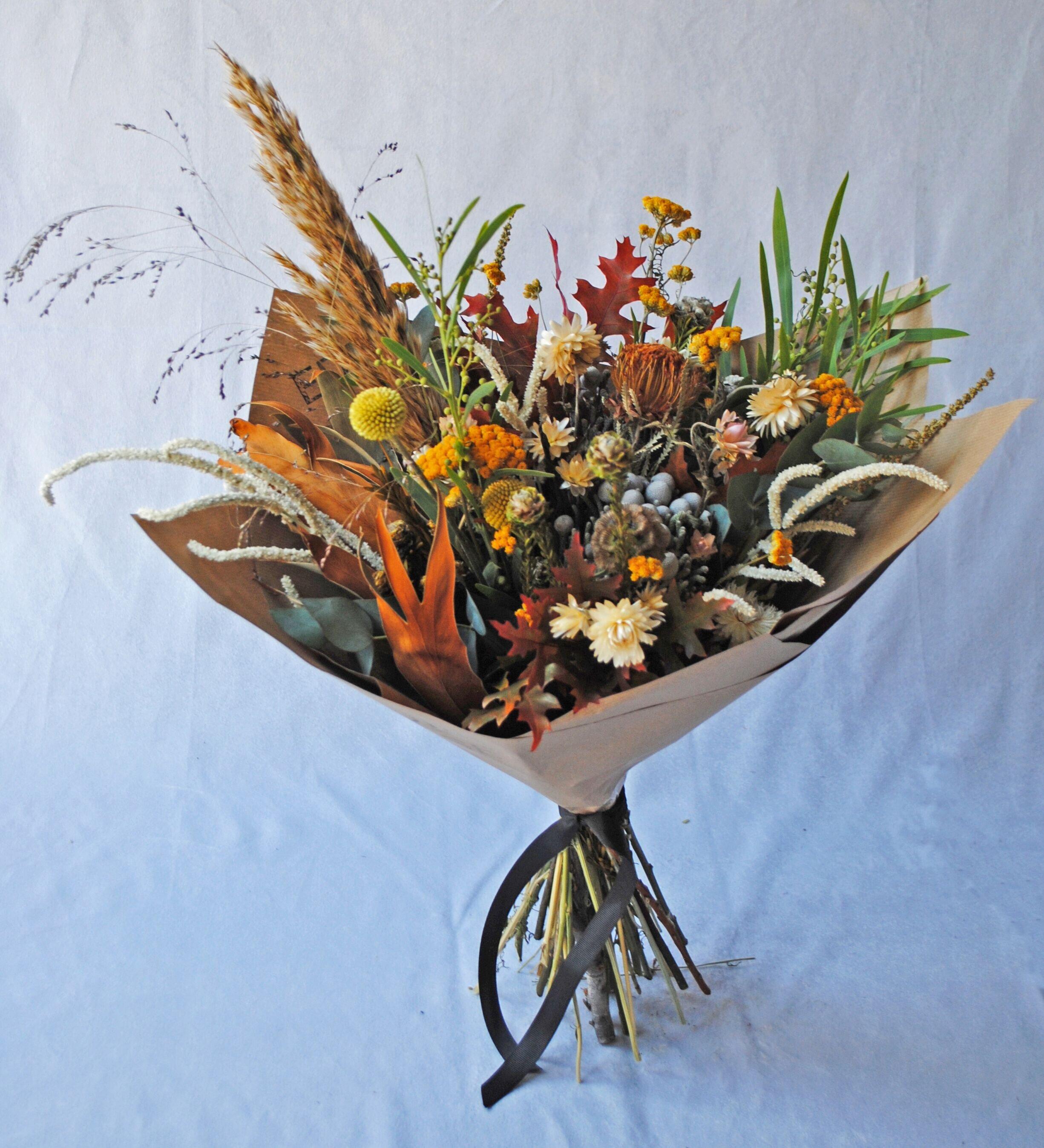Dead Pretty Dried Flower Bouquets Edie Rose
