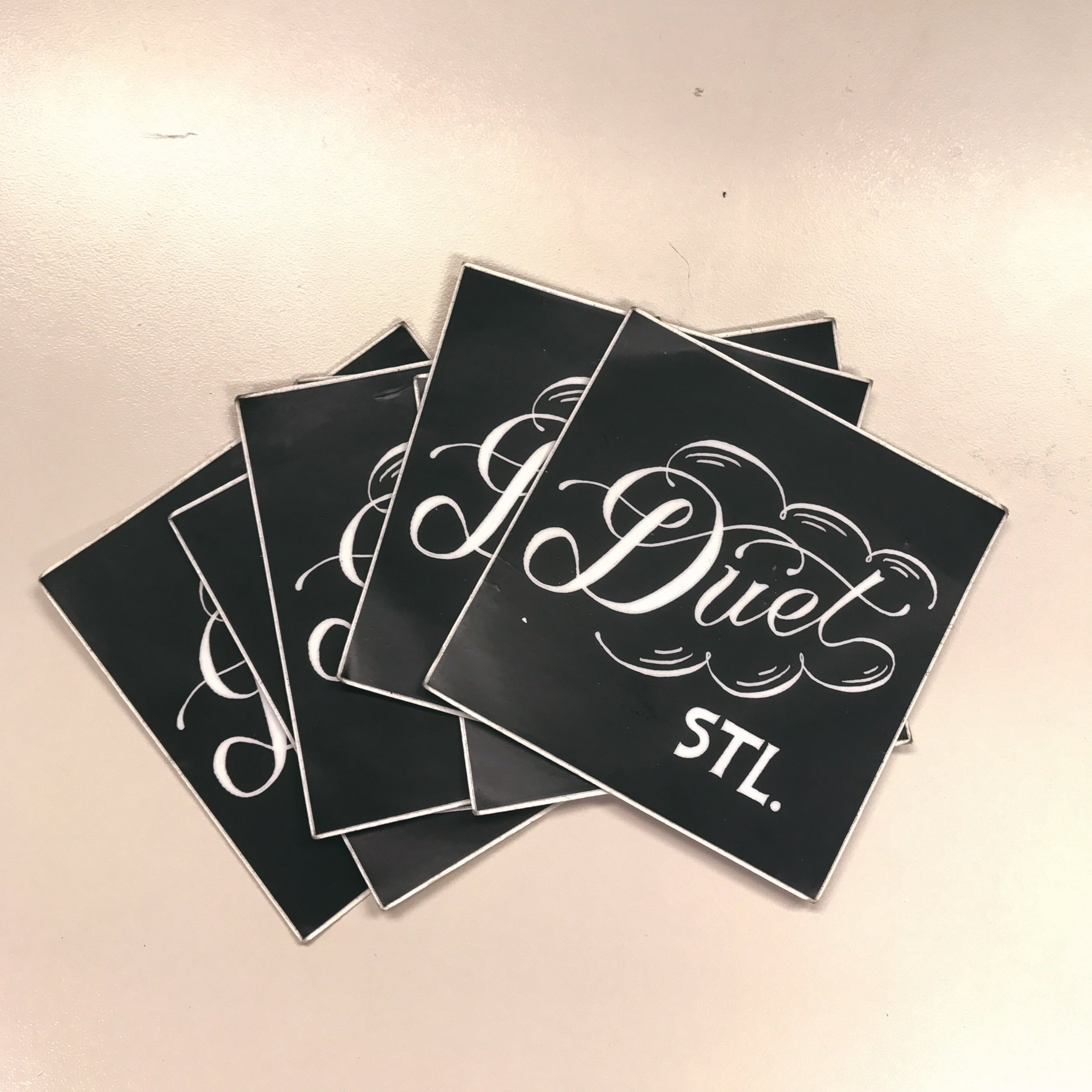 Sticker designed by Parker Gibson; printed by Sticker Mule