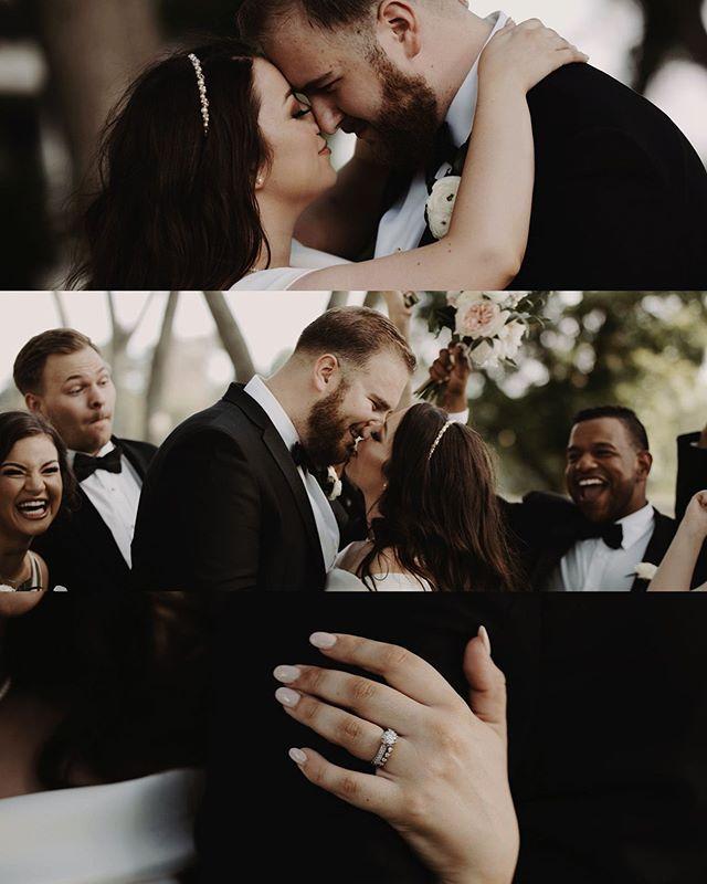 Always a good time getting to capture friends' weddings. 🖤 #tatumihardlyknowem