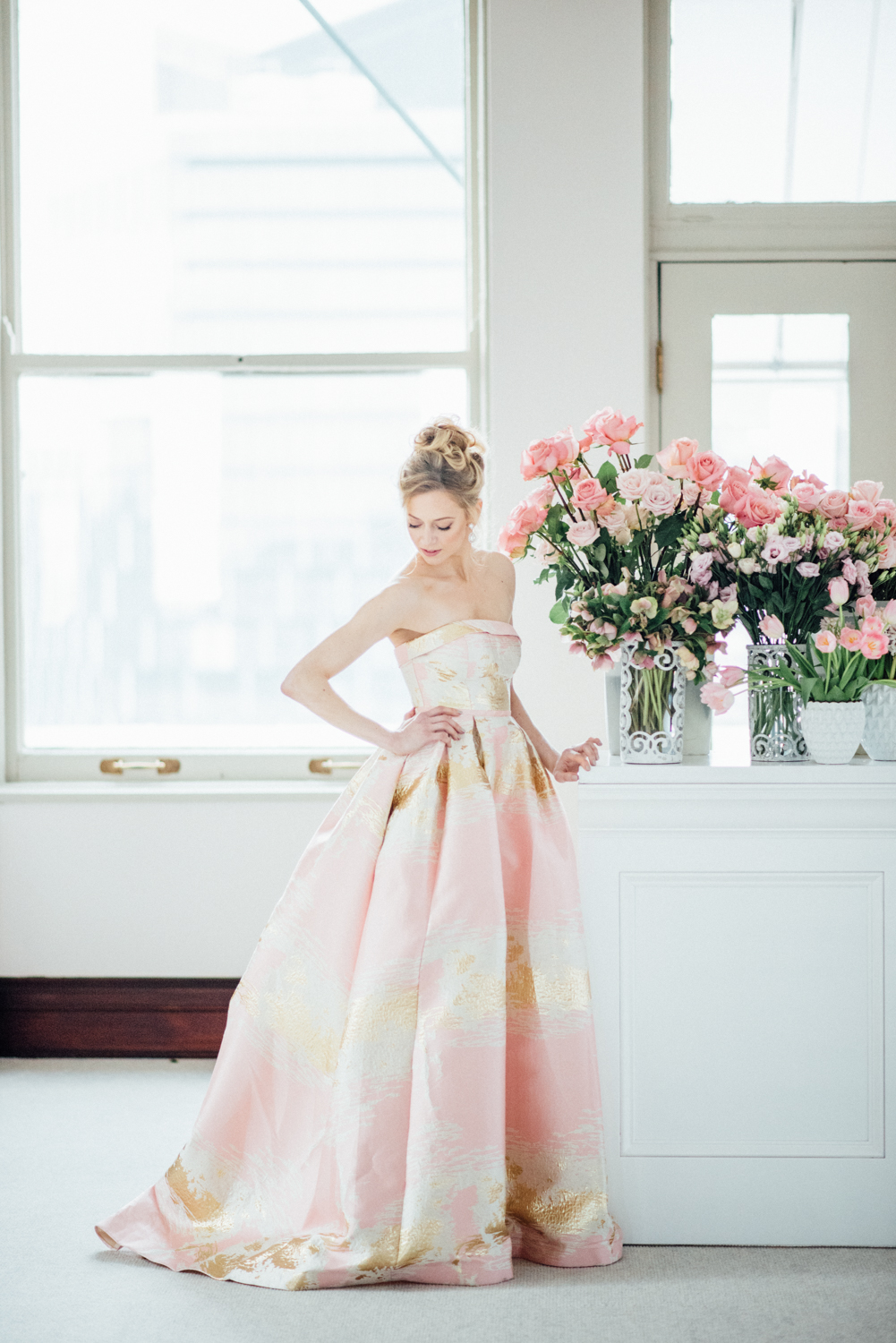 LA VIE EN ROSE STYLED SHOOT