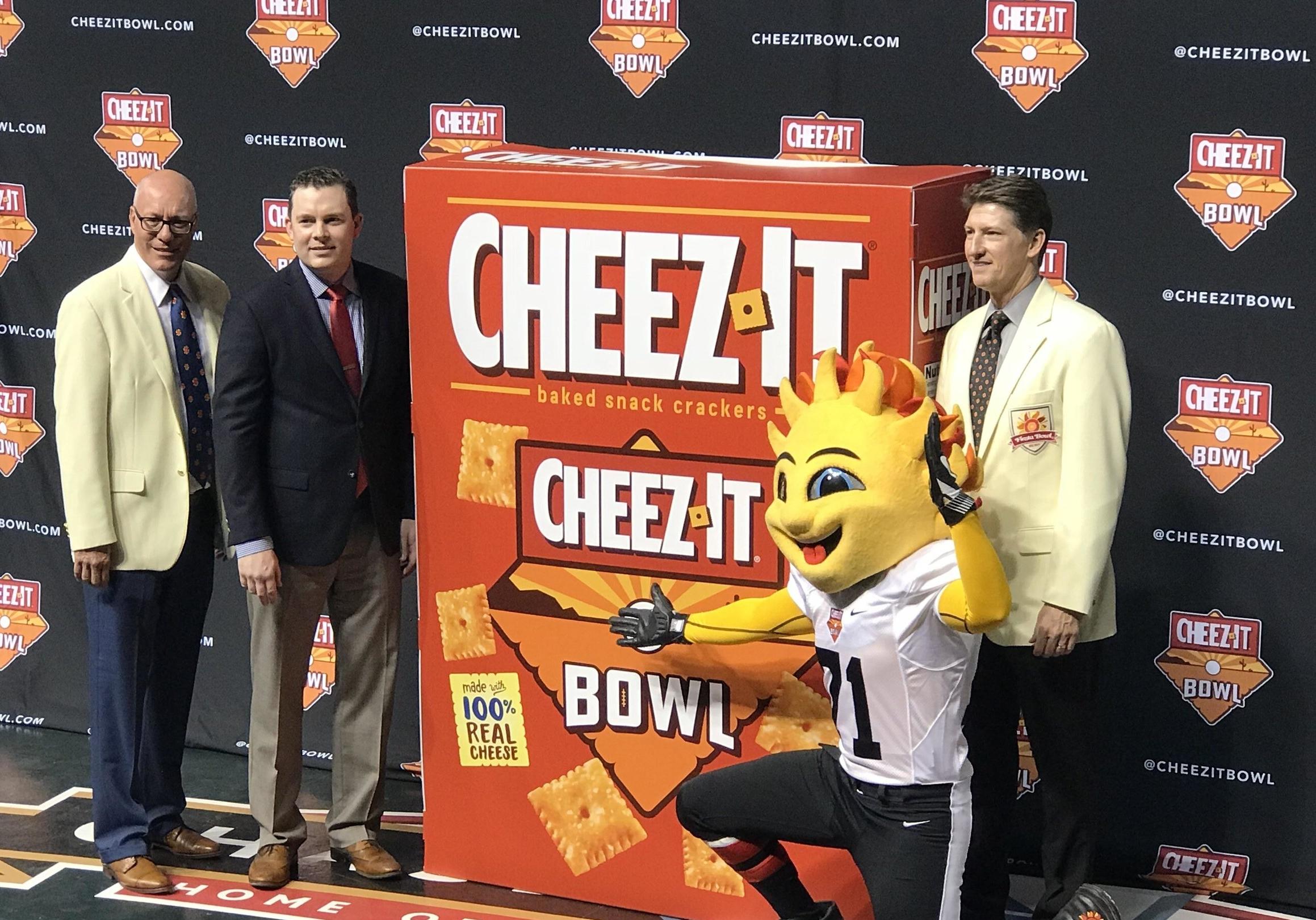 Impression Secures Cheez-It as Cactus Bowl Title
