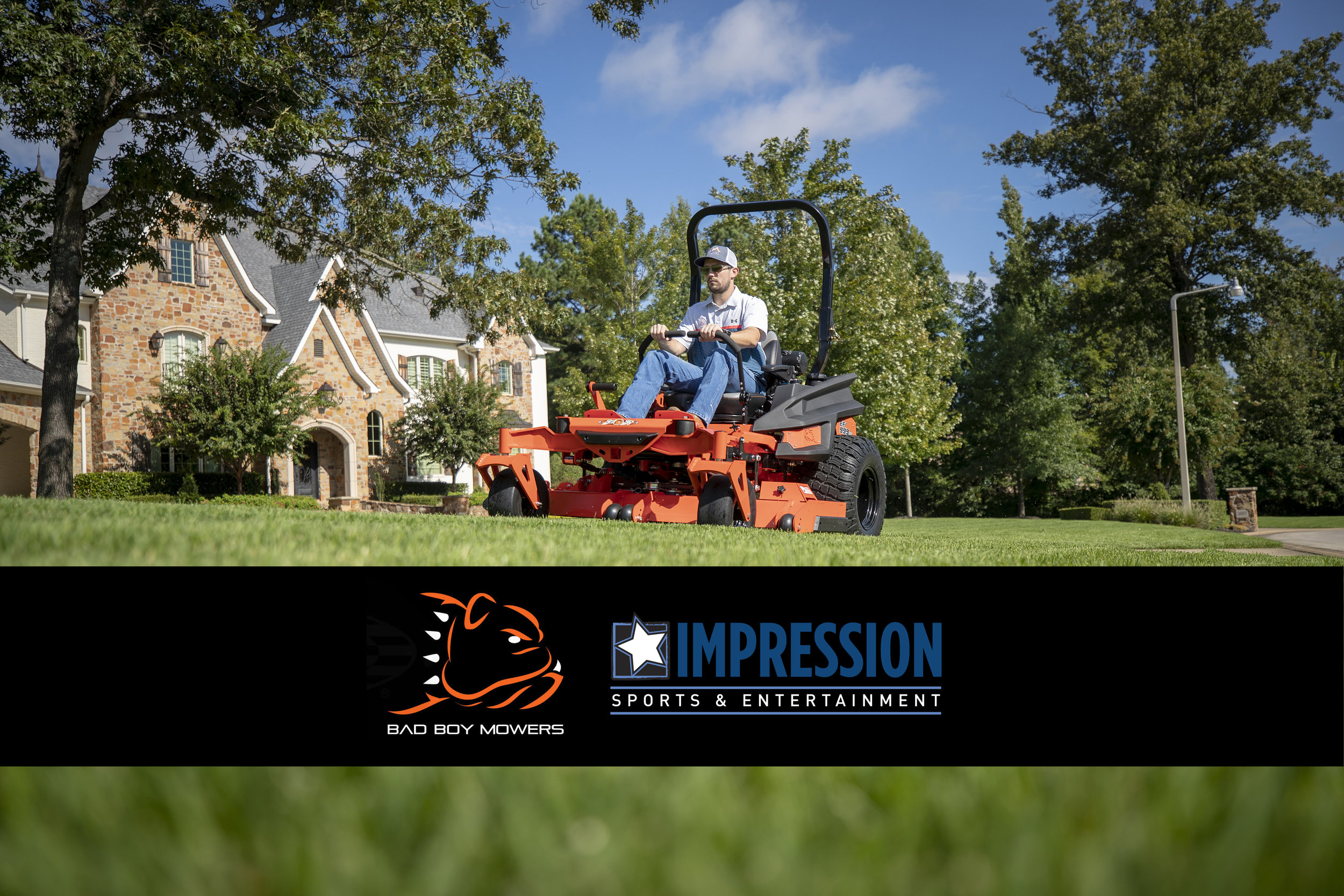 Bad Boy Mowers Taps Impression Sports & Entertainment as its Sponsorship Agency of Record