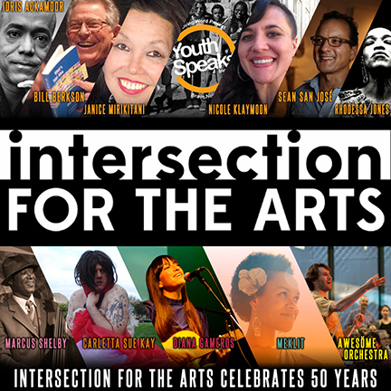 INTERSECTION FOR THE ARTS 50TH ANNIVERSARY