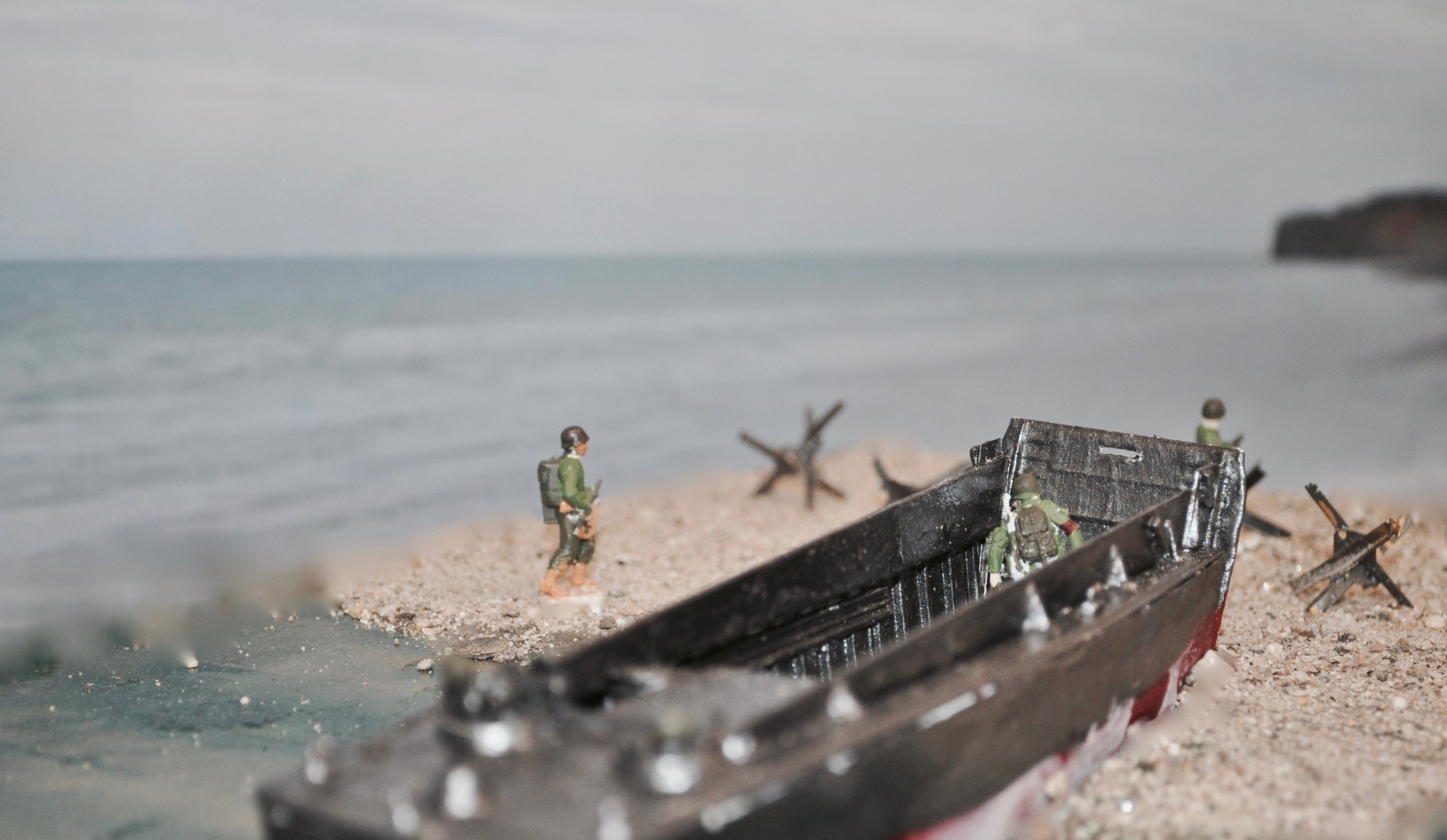 WWII diorama-Henry Rogers '21