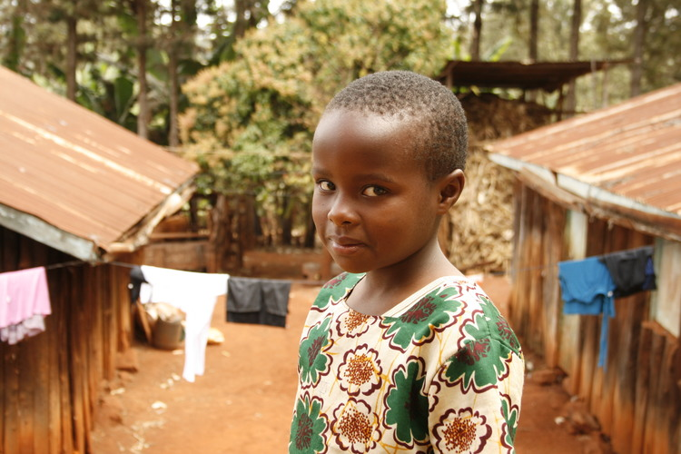 We interviewed many girls in the village. This girl was the youngest.