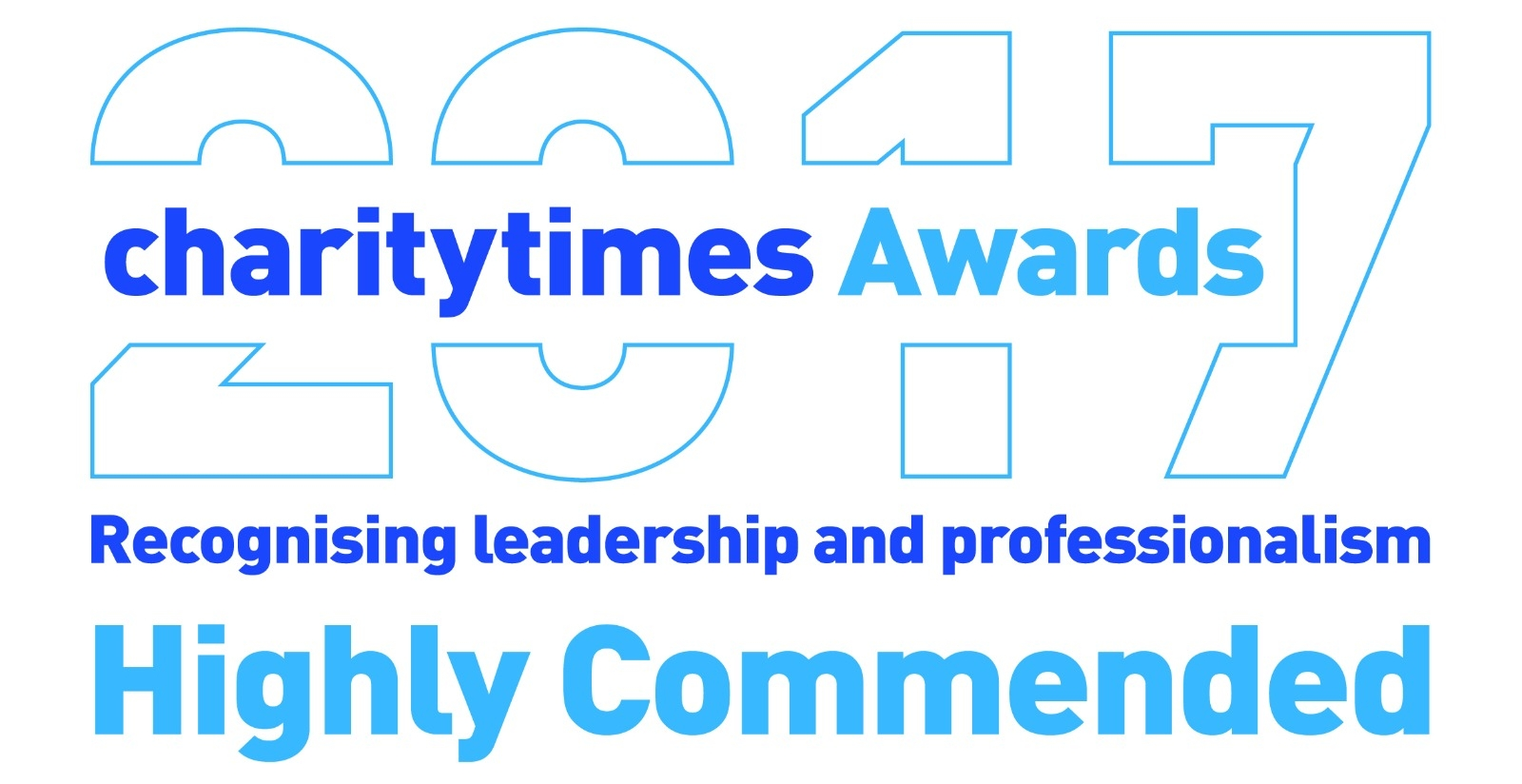 Very proud to be recognised as Highly Commended with Charity Times Awards as the Best New Charity category