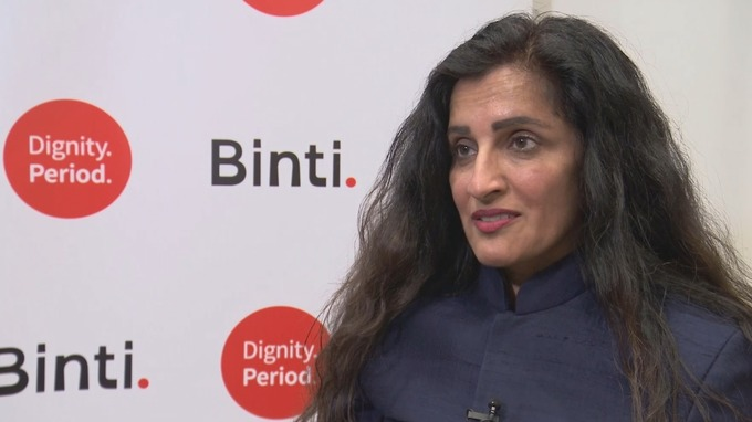 Missing school due to periods holds girls back, campaigner Manjit Gill explains.Credit: ITV News