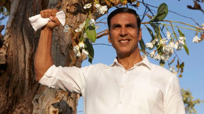 Bollywood star Akshay Kumar plays Arunachalam Muruganantham