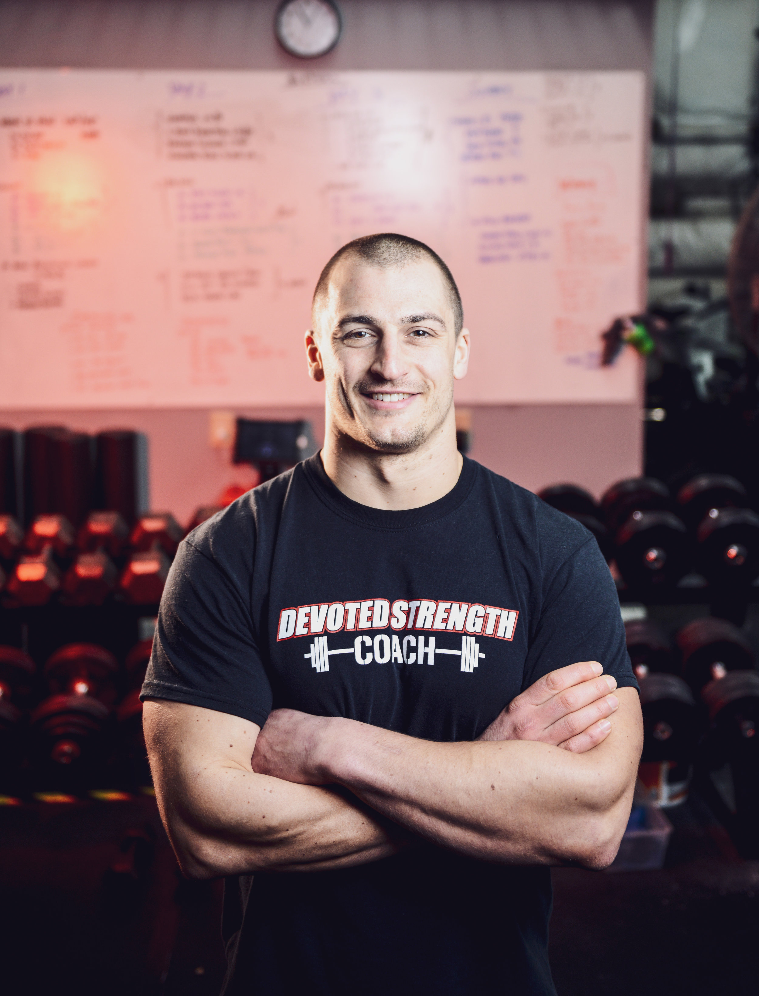 NICK HAUGHT  - Strength   Coach Owner, Lean&Fit, Strength&Muscle, Nutrition