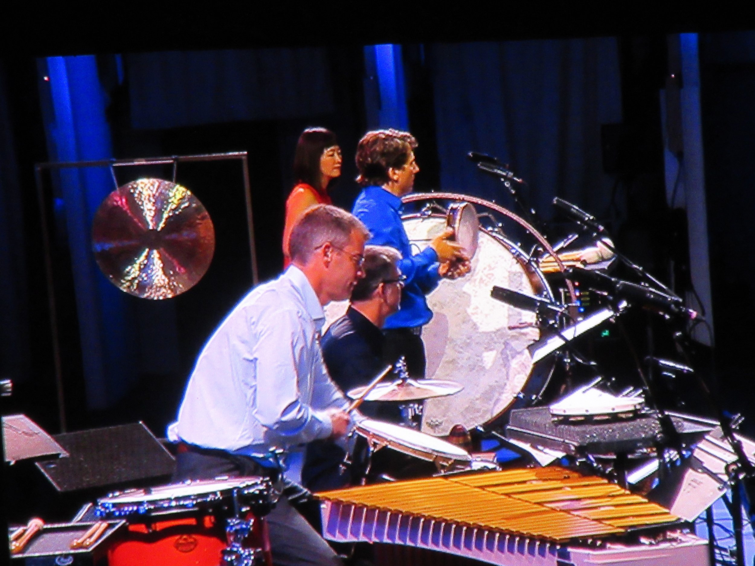 Joe, Haruka, Mark and Shane. First tour with four!