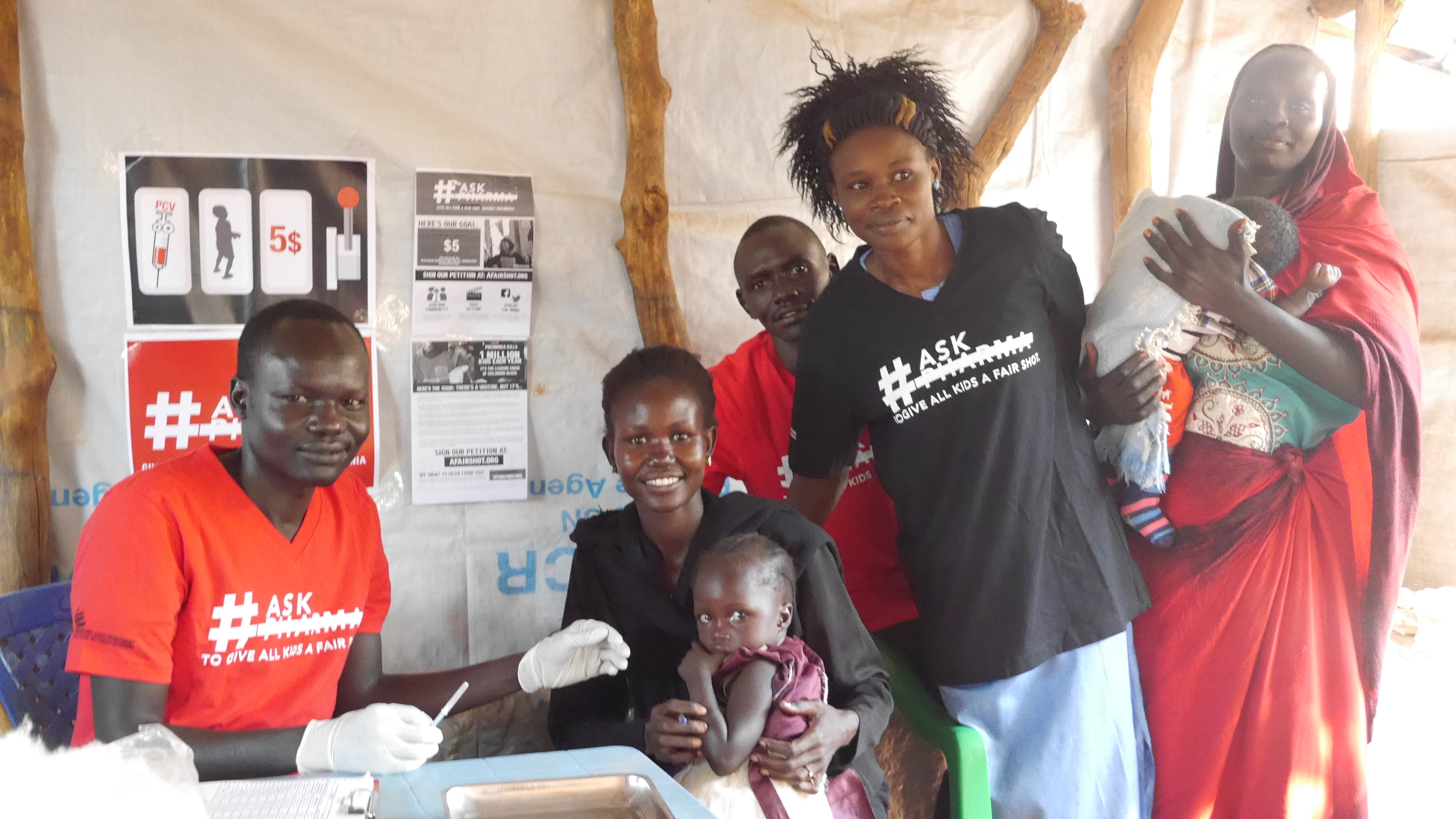 Doctors Without Borders in CAR sign the petition.