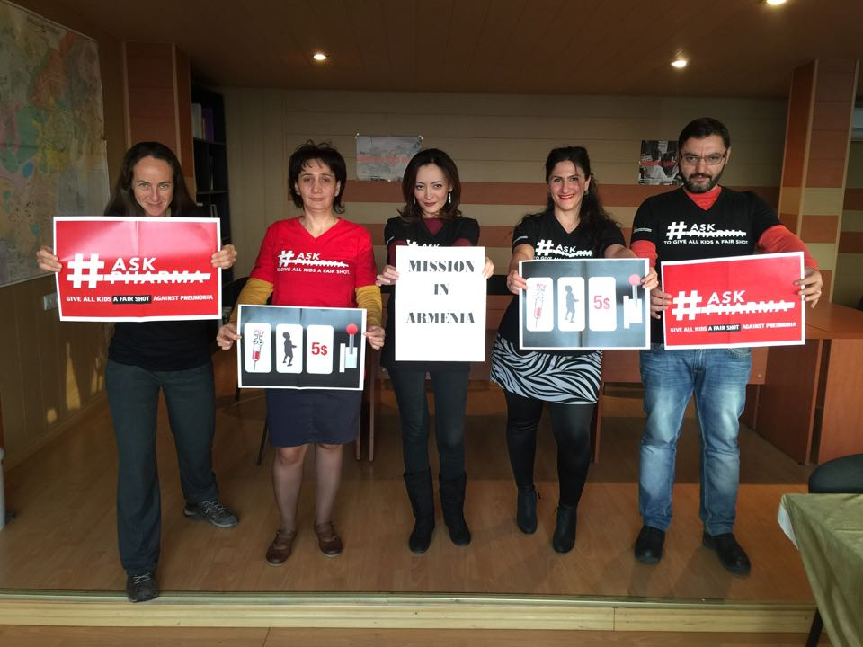 Doctors Without Borders in Armenia sign the petition.