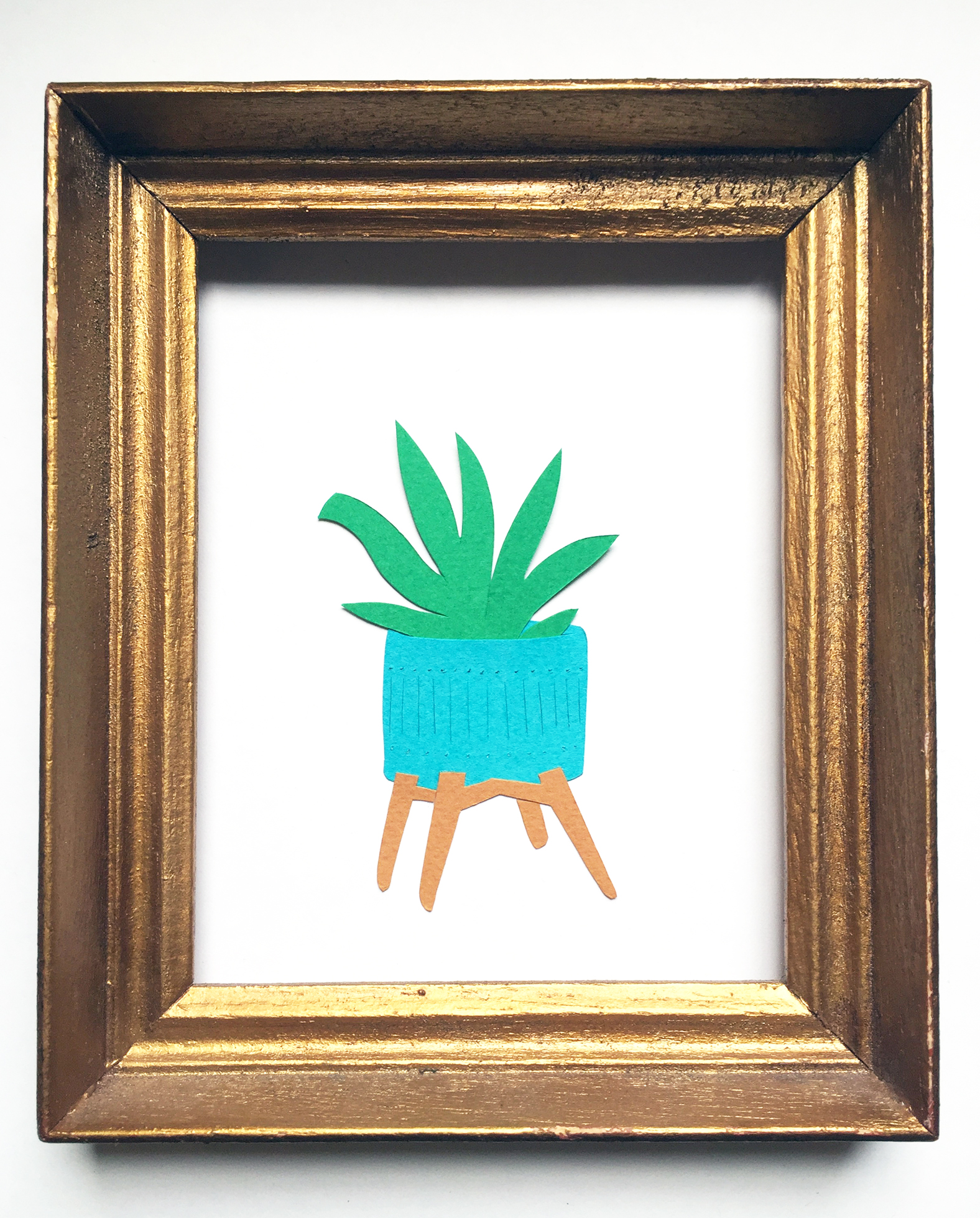 Potted Plant by Kate Zaremba