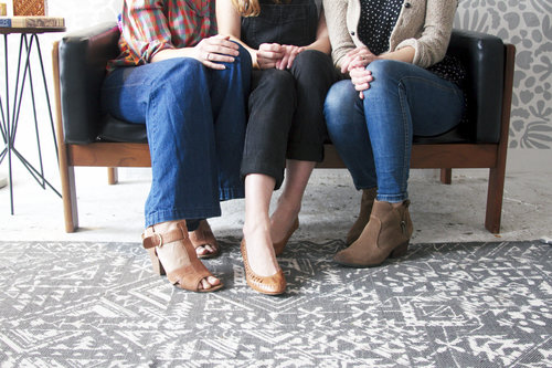 Founders Linny Giffin, Kathryn Zaremba and Holley Simmons | image by Morgan H. West