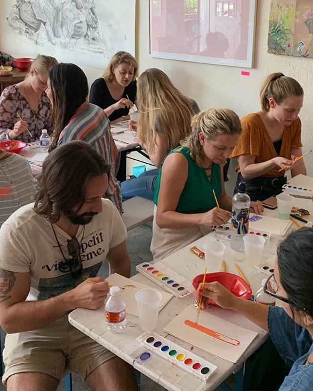 WATERCOLOR PAINT NIGHT  Thursday, Nov 14  Spend the night getting creative and starting the weekend on a colorful note! Led by local watercolor artist Erin Williams, participants will get to choose a blank illustration to paint in watercolor, and can also create their own illustration. Light bites and materials (paint, paper, brushes) will be provided.  Tickets: $30