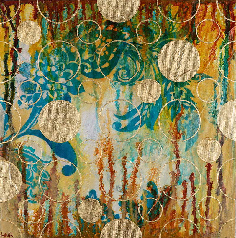 Dots (Gold) (sold)