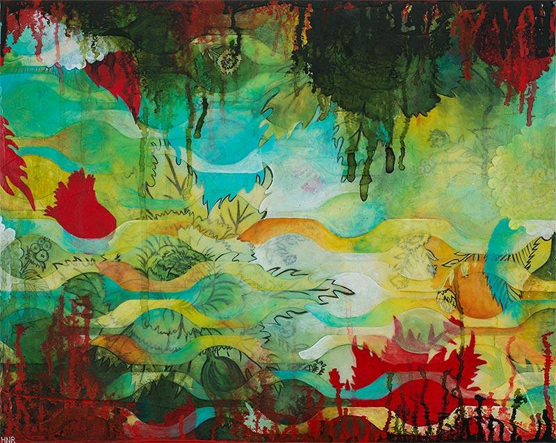Waves Summer Forest (sold)