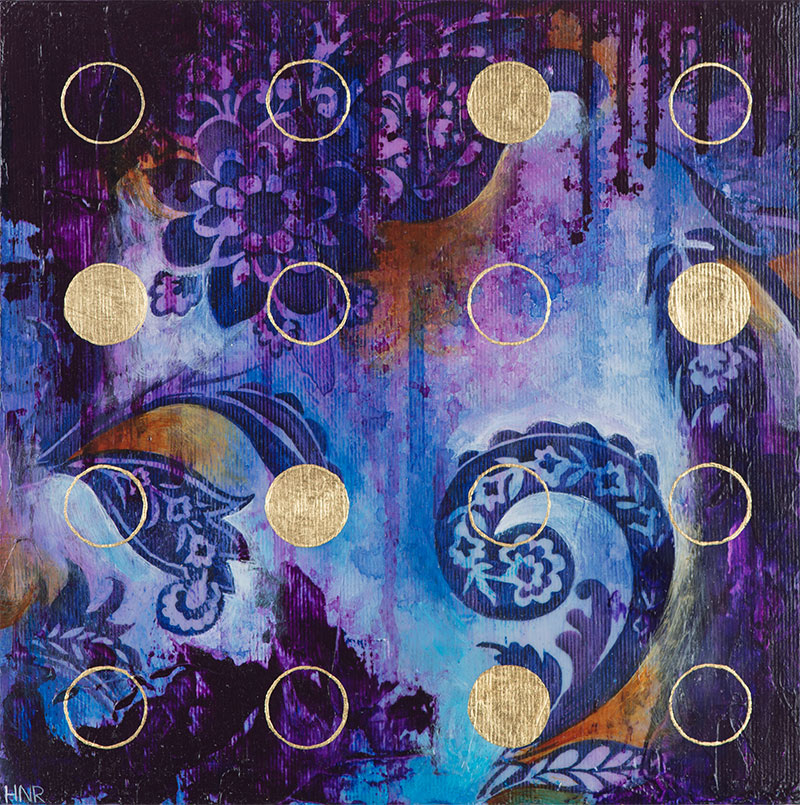 Dots (Purple) (sold)