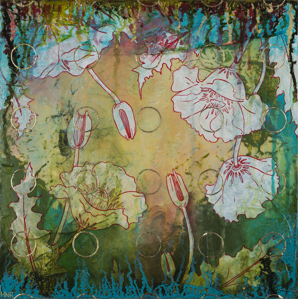 Circles (Poppies) (sold)