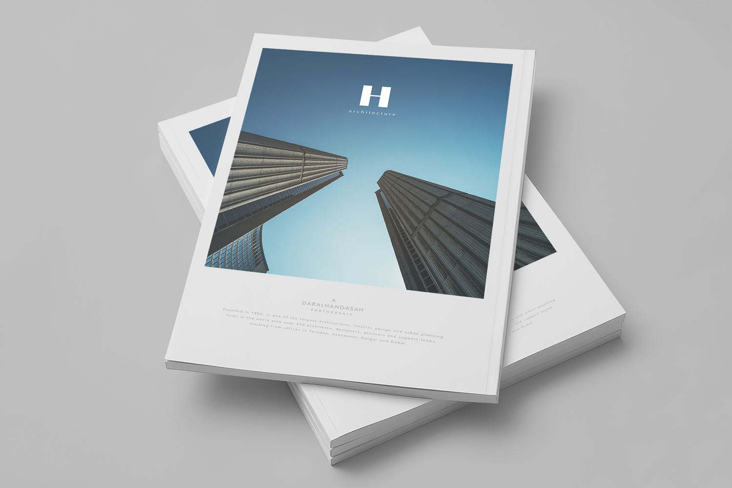 Marketing Collateral for Daral Handasah Architecture