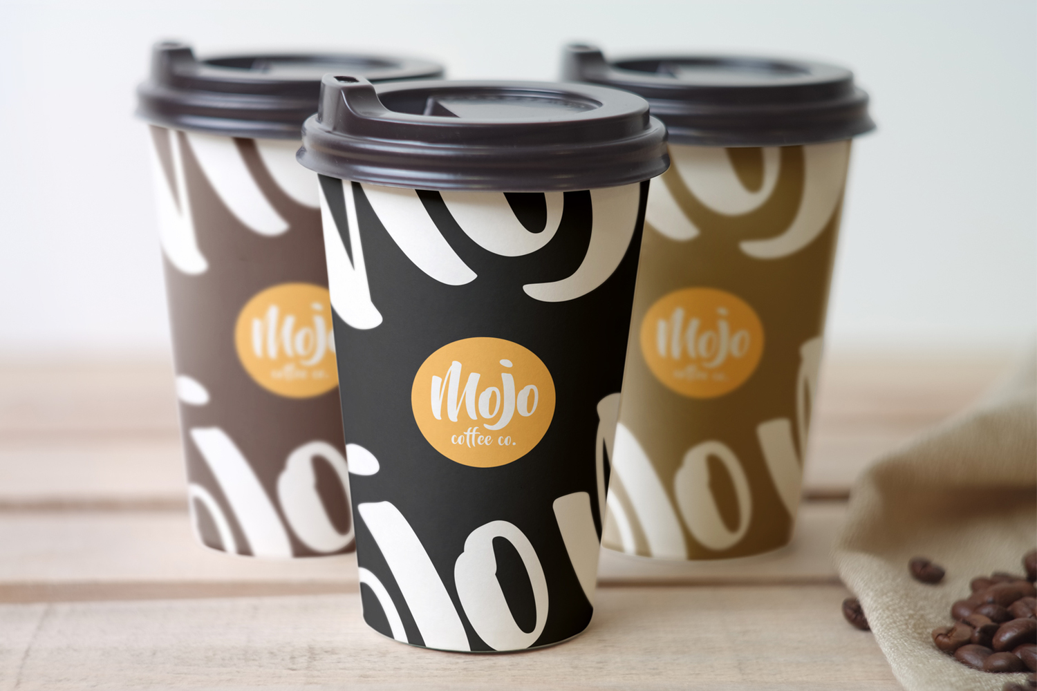 Packaging design for coffee cup - Mojo