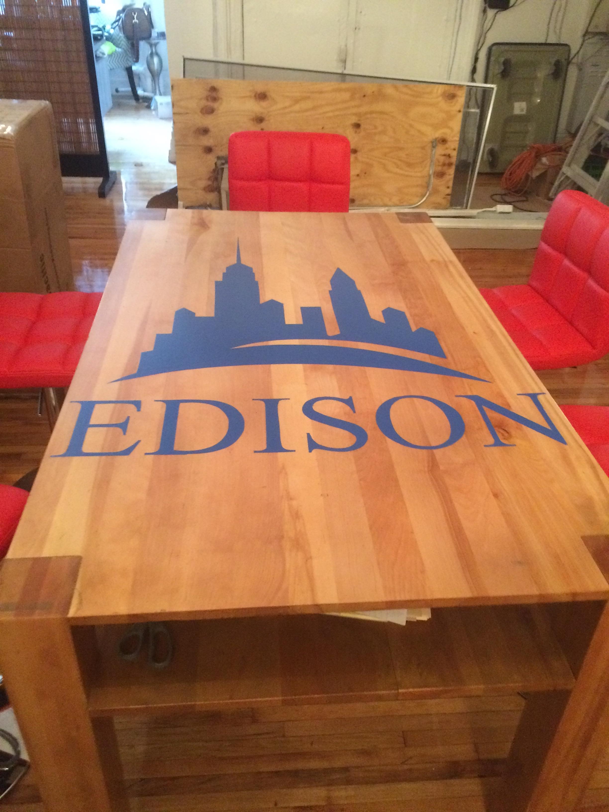 Edison Office installation