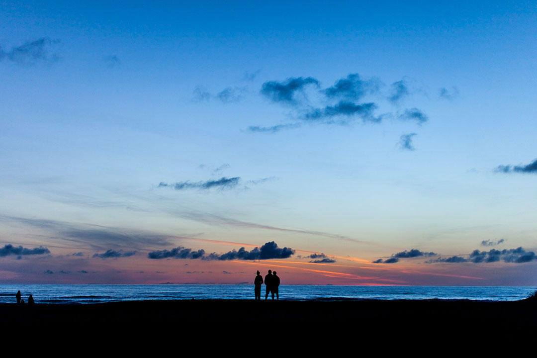 Sunset Mad River Beach