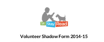 SitStayRead | Volunteer 2015 Shadow Form