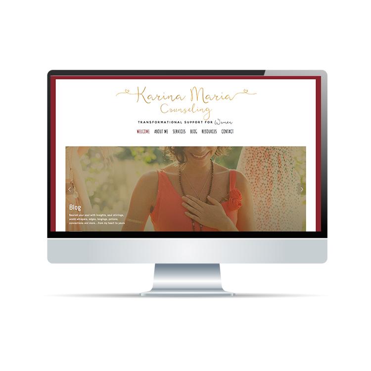 Karina Maria Counseling - Website Revamp | Brand Strategy | Social Media Design & MarketingMailChimp Campaign Marketinghttps://www.karinamariacounseling.com