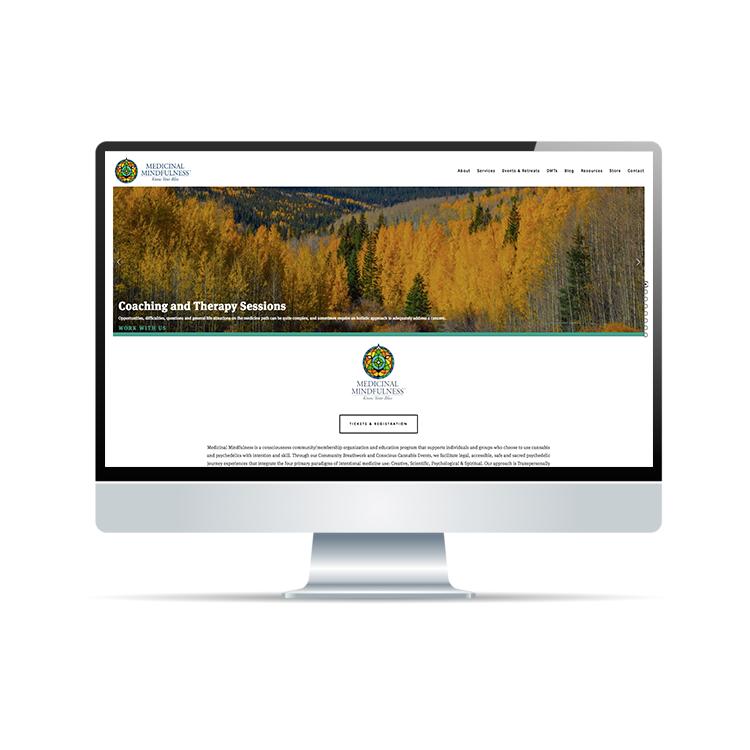 Medicinal Mindfulness - Full Website Design | Brand Strategy | Social Media Design & MarketingMailChimp Email Marketing | Patreon Marketinghttps://www.medicinalmindfulness.org