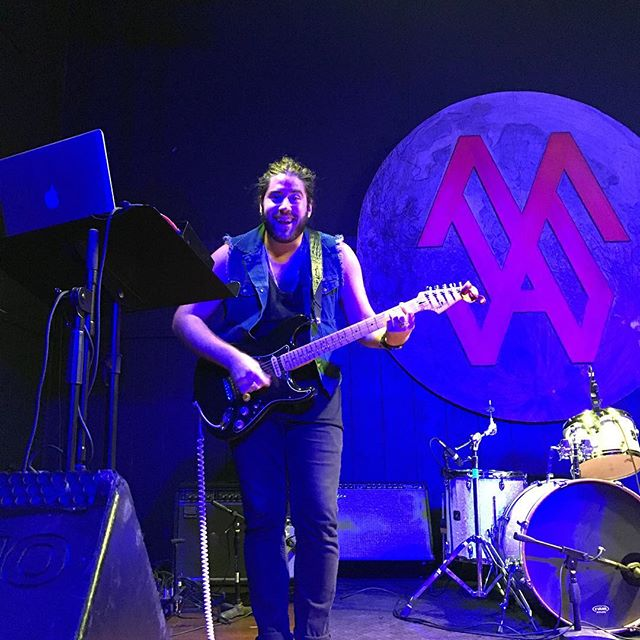This beautiful bearded man. @vylitmusic #music #shoegaze #fortworthlivemusic
