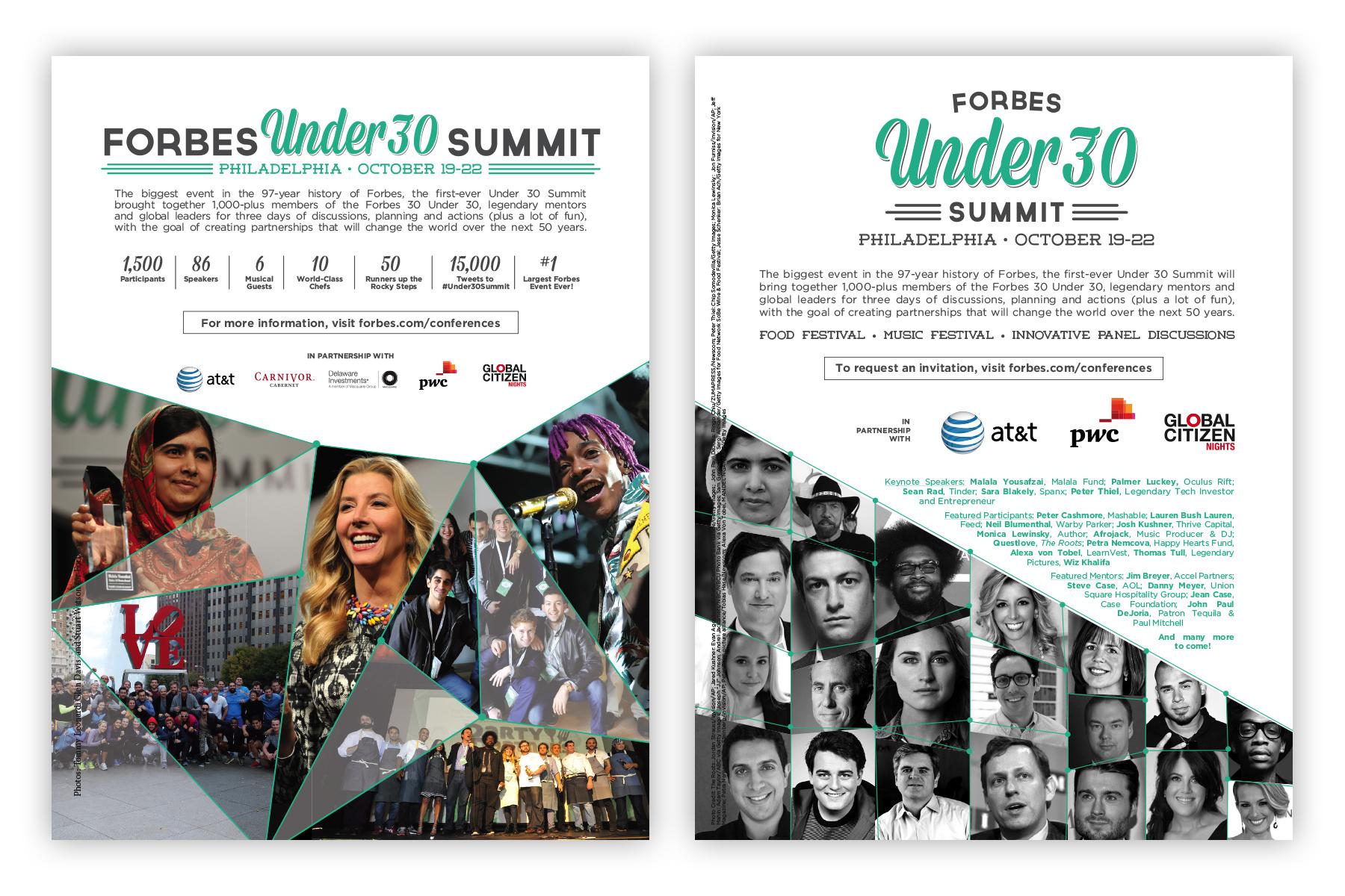 2014 Forbes Under 30 Summit