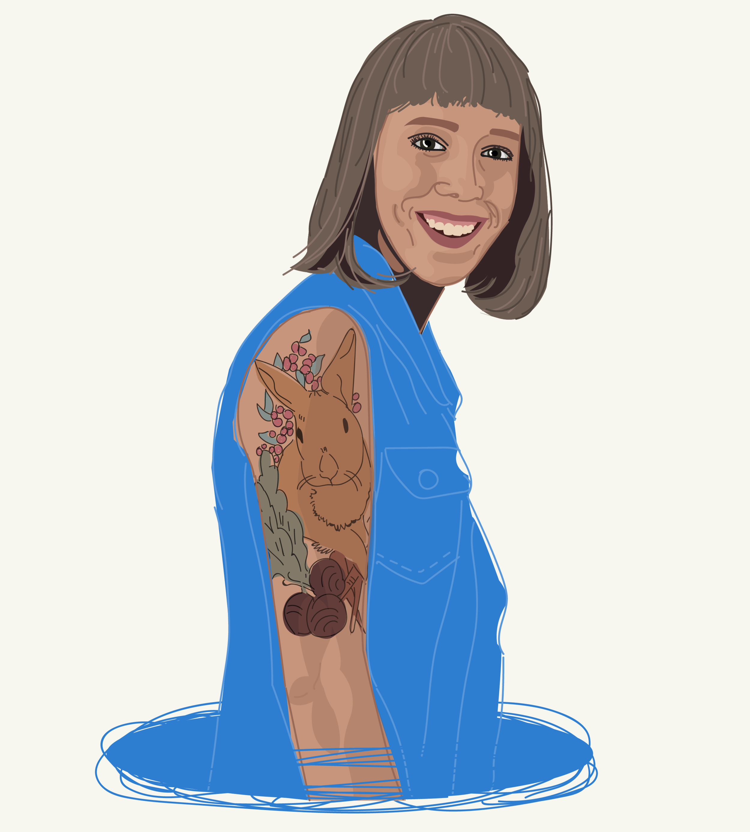 Illustration | Annie Buchholz | Tattoo