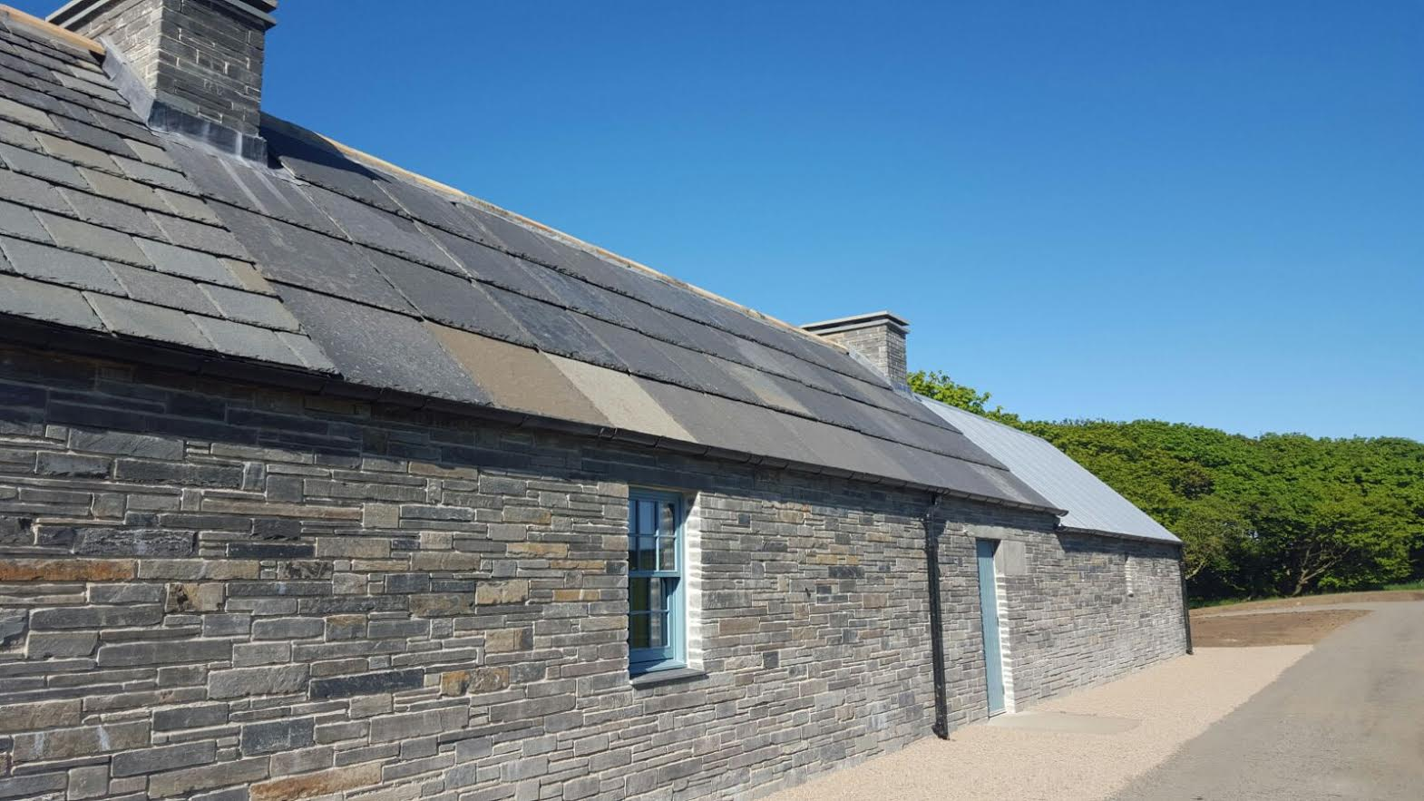 Caithness stone roof tiles