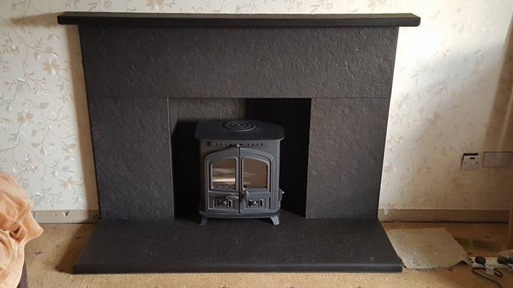 Caithness Stone Hearth and Surround